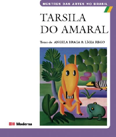 Capa Tarsila do Amaral