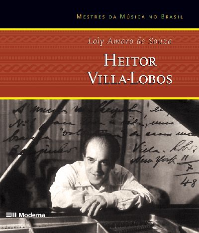 Capa Heitor Villa-Lobos