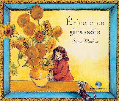 Capa Érica e os girassóis