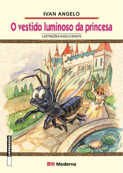 Capa O vestido luminoso da princesa
