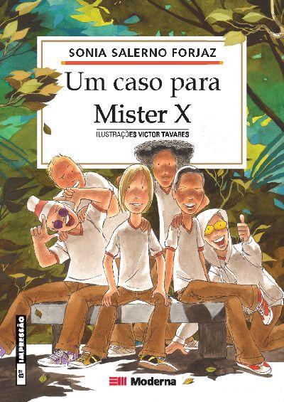Capa Um caso para Mister X