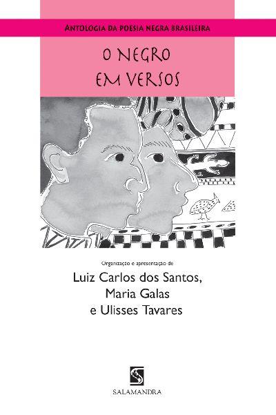 Capa Antologia da poesia negra brasileira