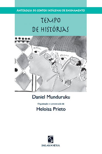 Capa Antologia de contos indígenas de ensinamento