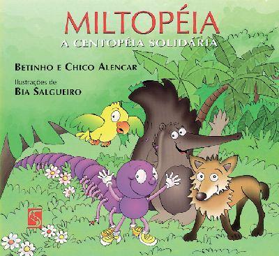 Capa Miltopeia, a centopeia solidária