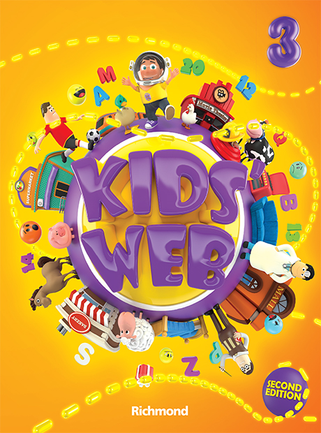 Kids' Web 3 2nd Edition - ampliada