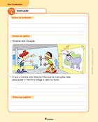fichas de vocabulario português