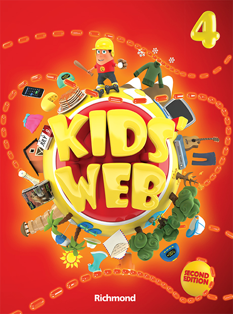 Kids' Web 4 2nd Edition - ampliada
