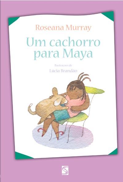 Capa Um cachorro para Maya