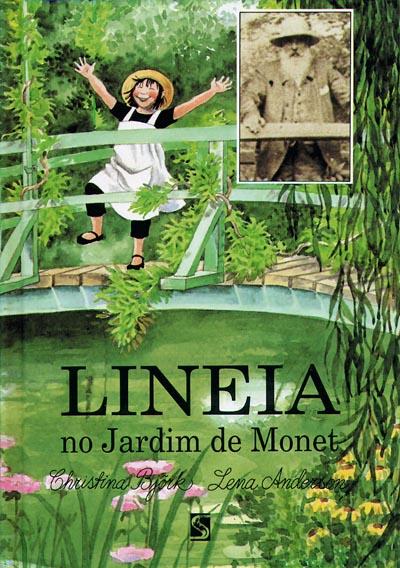 Capa Lineia no Jardim de Monet