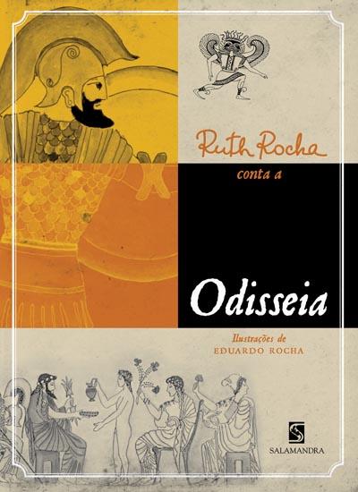 Capa Ruth Rocha conta a Odisseia
