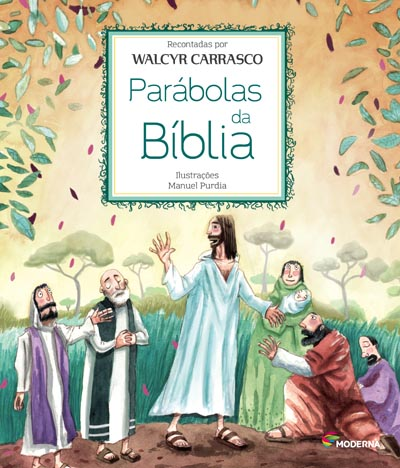 Capa Parábolas da Bíblia
