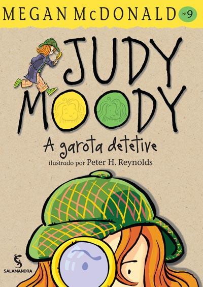 Capa Judy Moody - A garota detetive