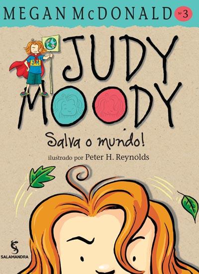 Capa Judy Moody salva o mundo!