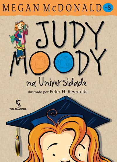 Capa Judy Moody na Universidade
