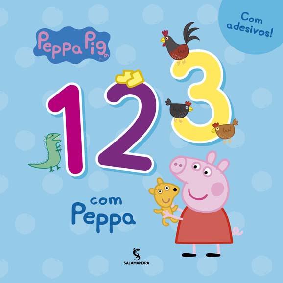Capa 1, 2, 3 com Peppa
