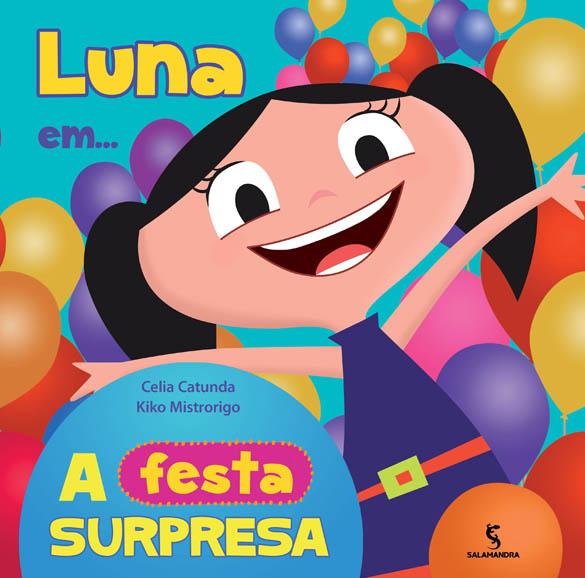 Capa Luna em... a festa surpresa!
