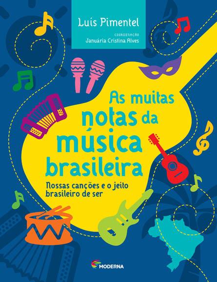 Capa As muitas notas da música brasileira