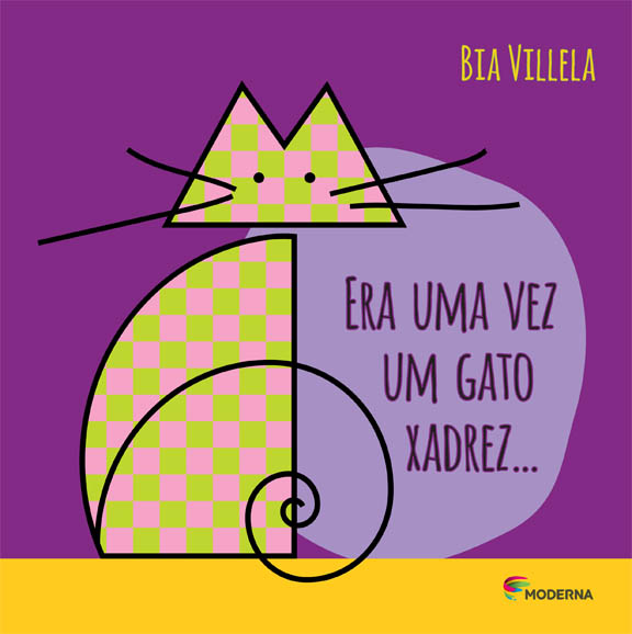 Capa Era uma vez um gato xadrez...