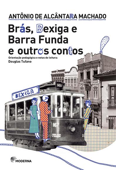 Capa Brás, Bexiga e Barra Funda e outros contos
