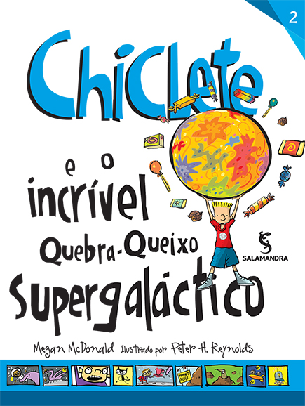 Capa Chiclete e o incrível quebra-queixo supergaláctico