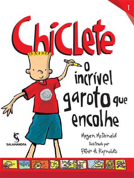Capa Chiclete - O incrível garoto que encolhe