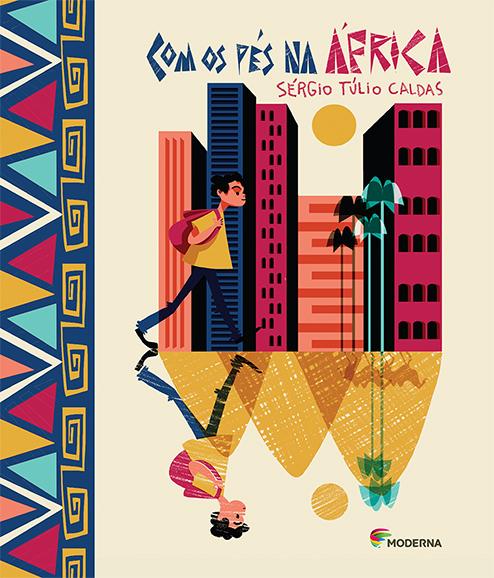 Capa Com os pés na África