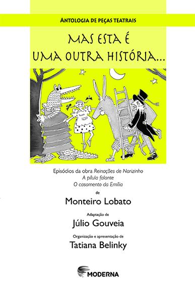 Capa Antologia de peças teatrais