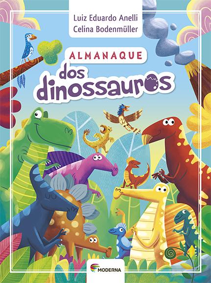 Capa Almanaque dos dinossauros