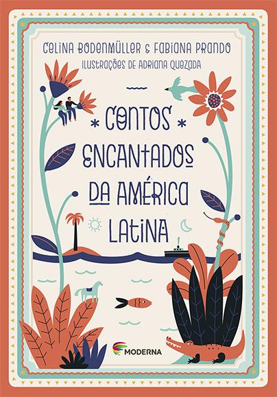 Capa Contos encantados da América Latina