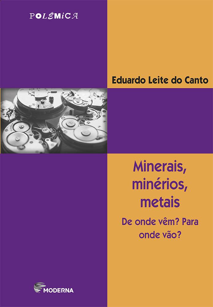 Capa Minerais, minérios, metais