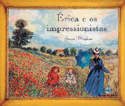 Capa Érica e os impressionistas