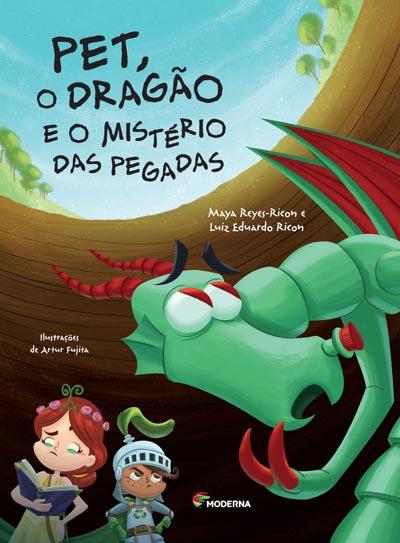 Capa Pet, o dragão e o mistério das pegadas
