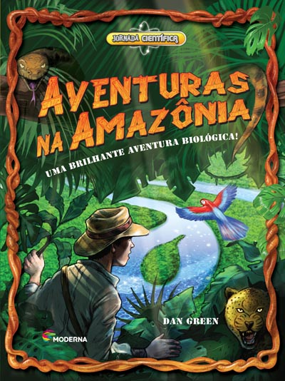 Capa Aventuras na Amazônia