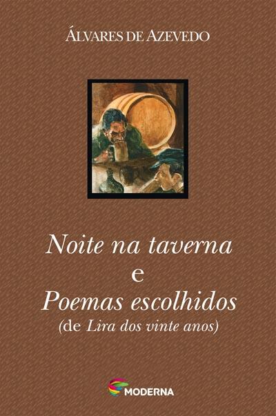 Capa Noite na taverna e Poemas escolhidos
