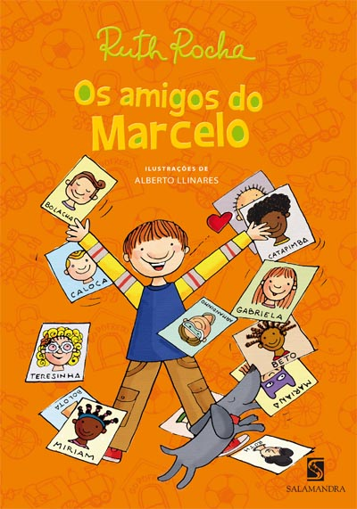 Capa Os amigos do Marcelo