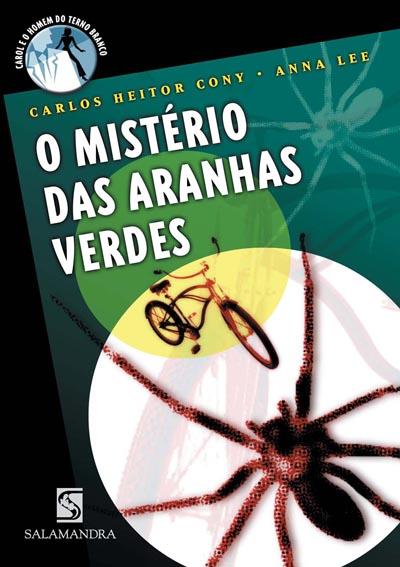 Capa O mistério das Aranhas Verdes