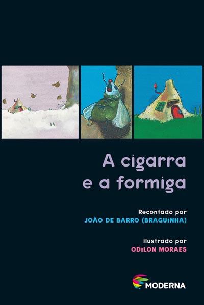Capa A cigarra e a formiga