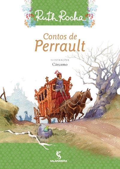 Capa Contos de Perrault