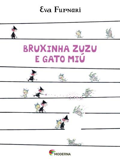 Capa Bruxinha Zuzu e gato Miú