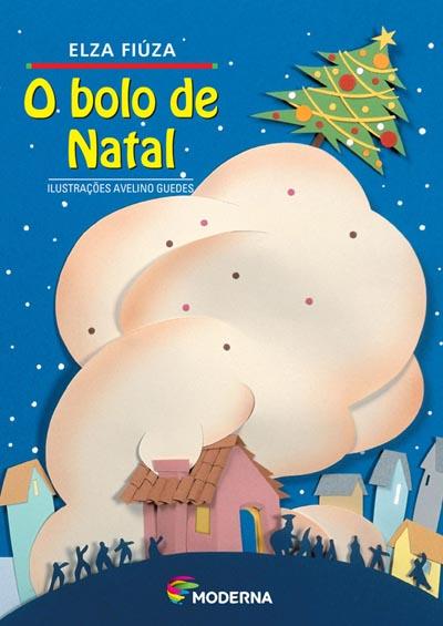 Capa O bolo de Natal