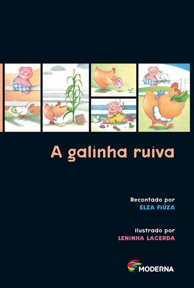 Capa A galinha ruiva