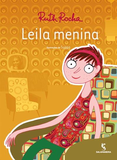 Capa Leila menina