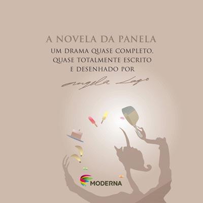 Capa A novela da panela