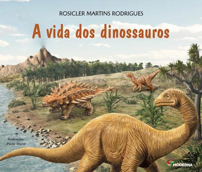 Capa A vida dos dinossauros
