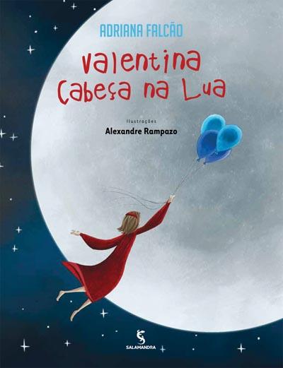 Capa Valentina cabeça na Lua