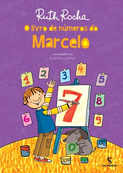 Capa O livro de números do Marcelo