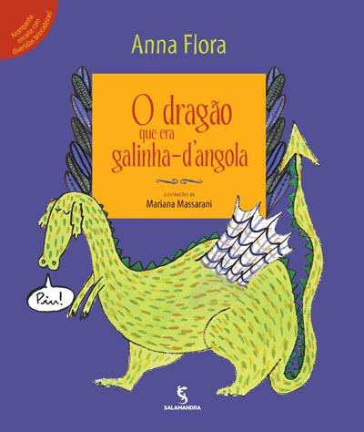 Capa O dragão que era galinha-d'angola