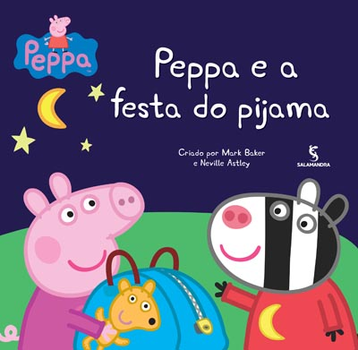 Capa Peppa e a festa do pijama