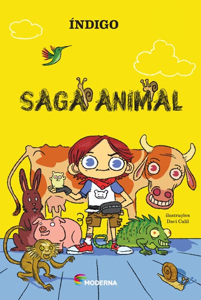 Capa Saga animal