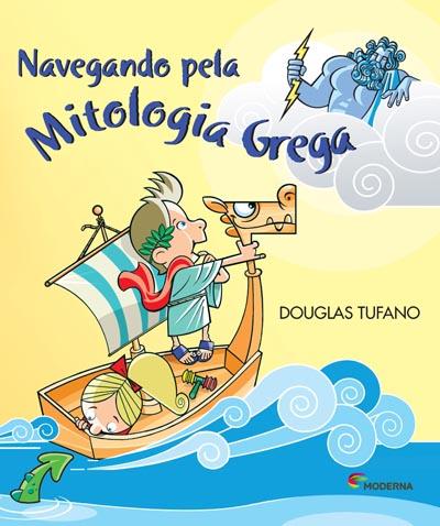 Capa Navegando pela mitologia grega